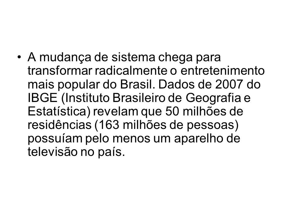 A mudança de sistema chega para transformar radicalmente o entretenimento mais popular do Brasil.