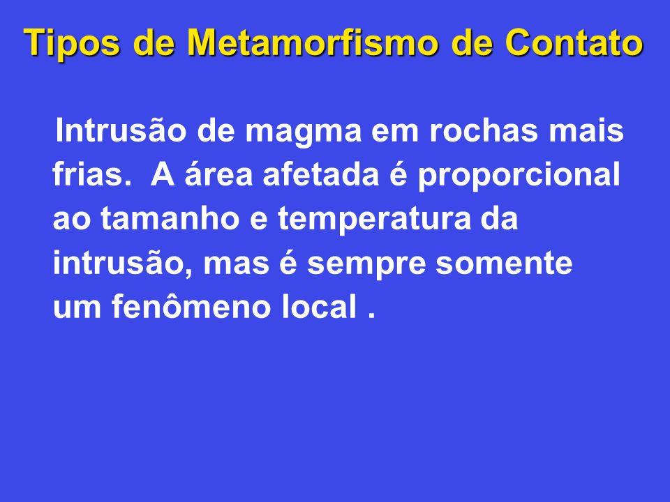 Tipos de Metamorfismo de Contato