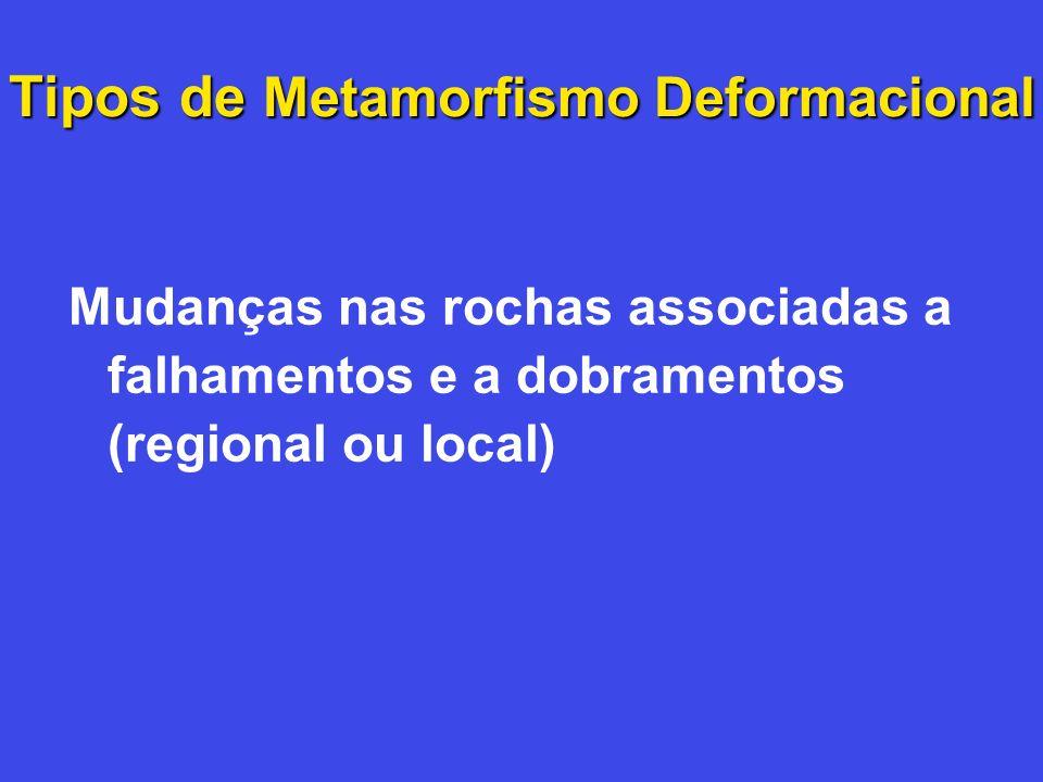 Tipos de Metamorfismo Deformacional