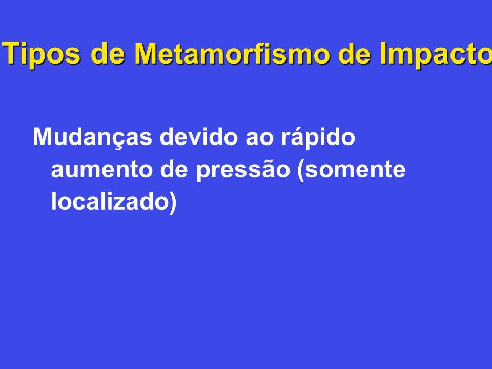 Tipos de Metamorfismo de Impacto