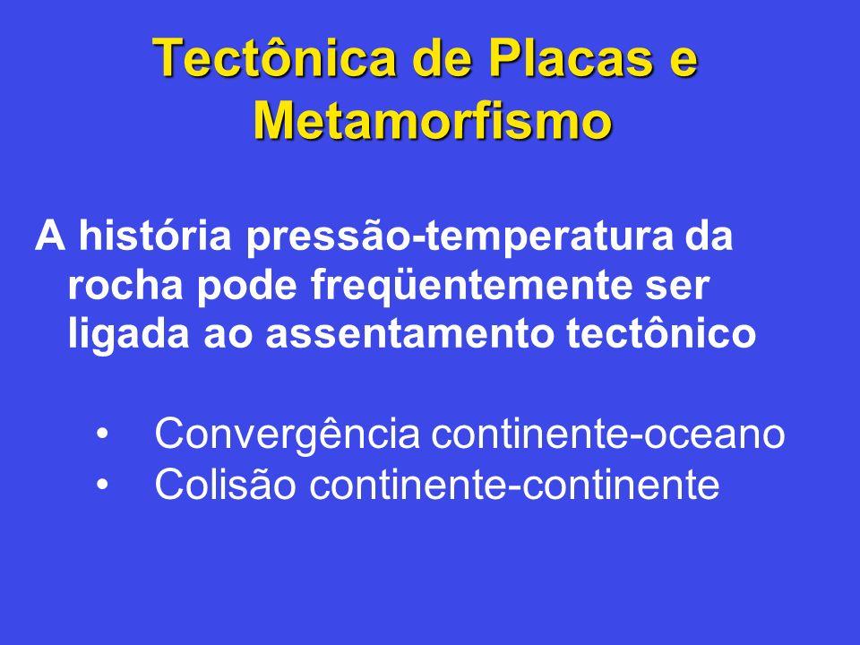 Tectônica de Placas e Metamorfismo