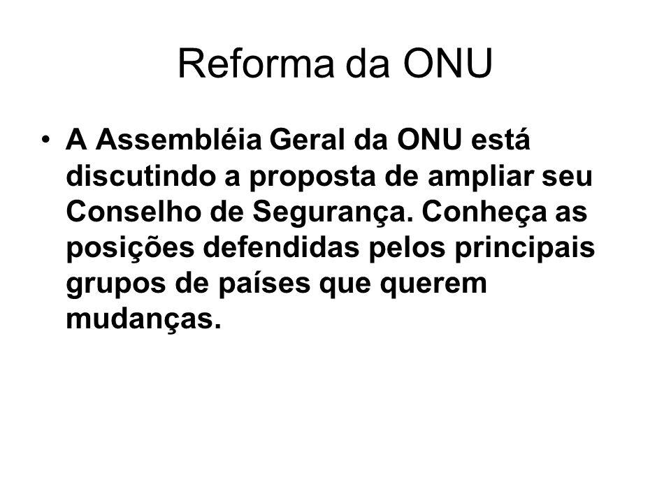 Reforma da ONU