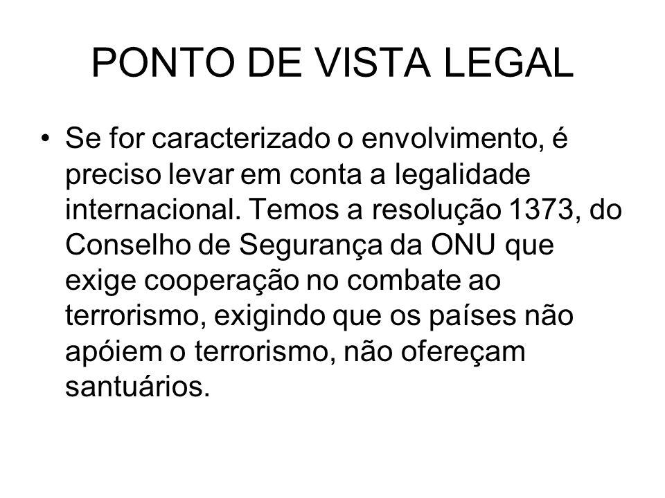 PONTO DE VISTA LEGAL