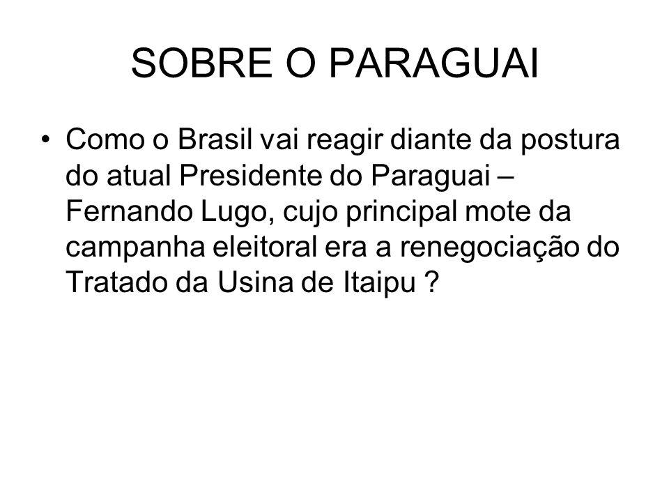 SOBRE O PARAGUAI