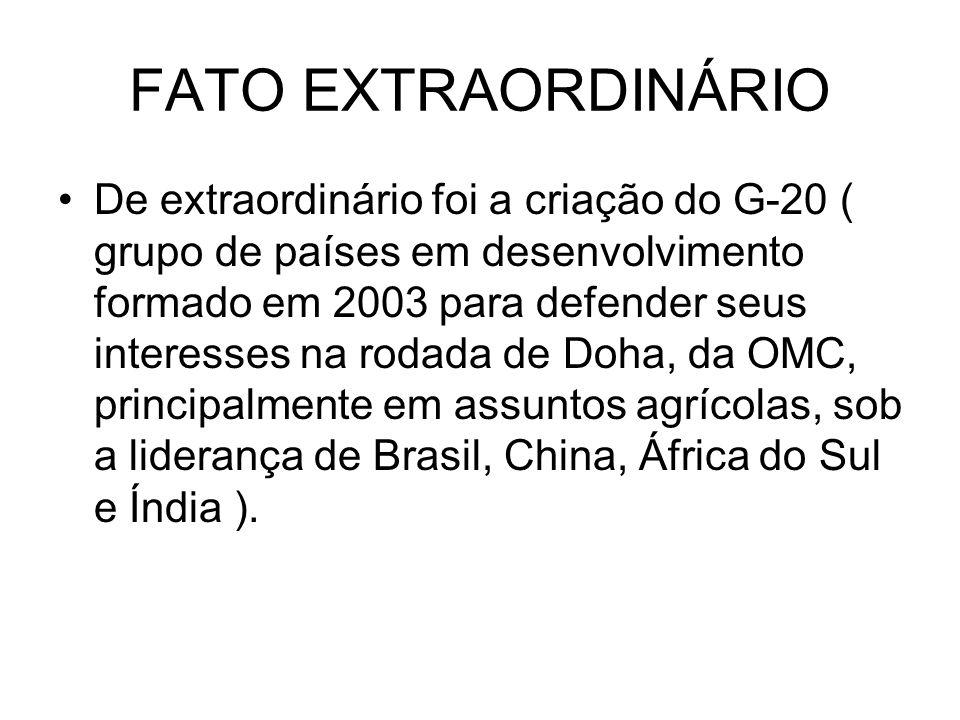 FATO EXTRAORDINÁRIO