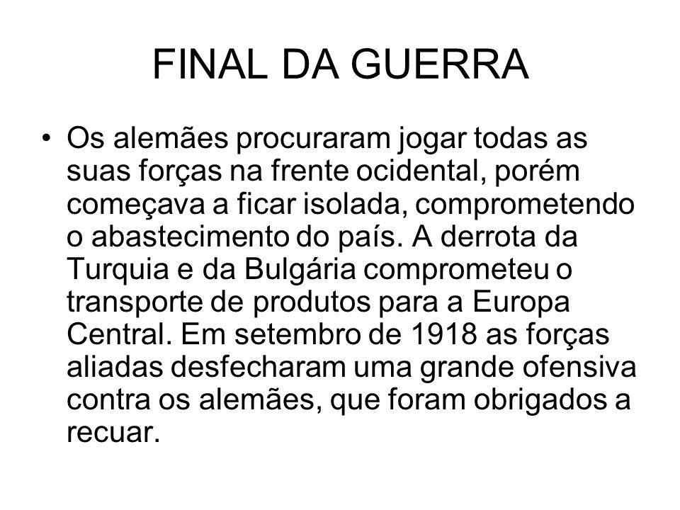 FINAL DA GUERRA