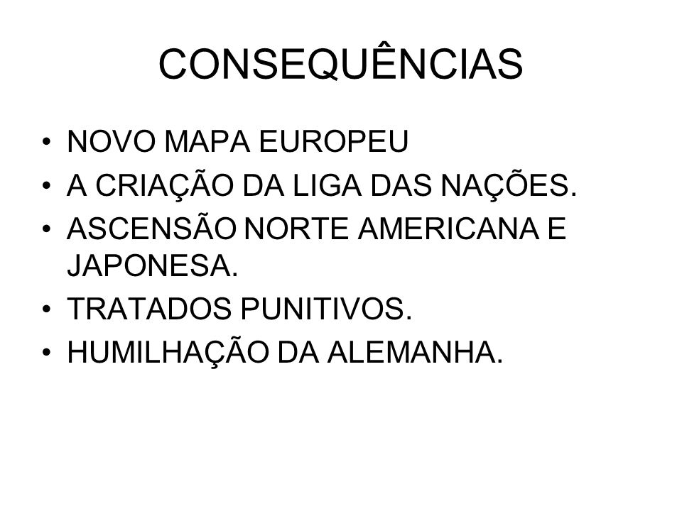 CONSEQUÊNCIAS NOVO MAPA EUROPEU A CRIAÇÃO DA LIGA DAS NAÇÕES.