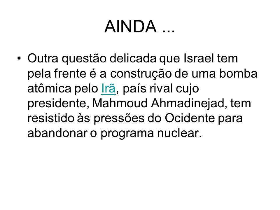 AINDA ...