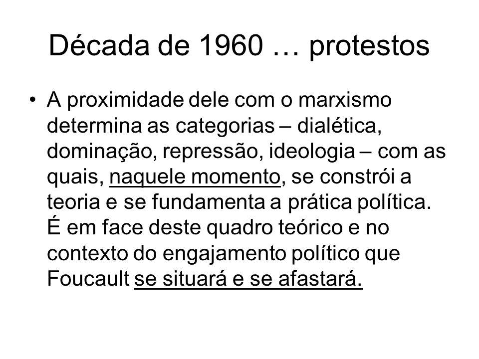 Década de 1960 … protestos