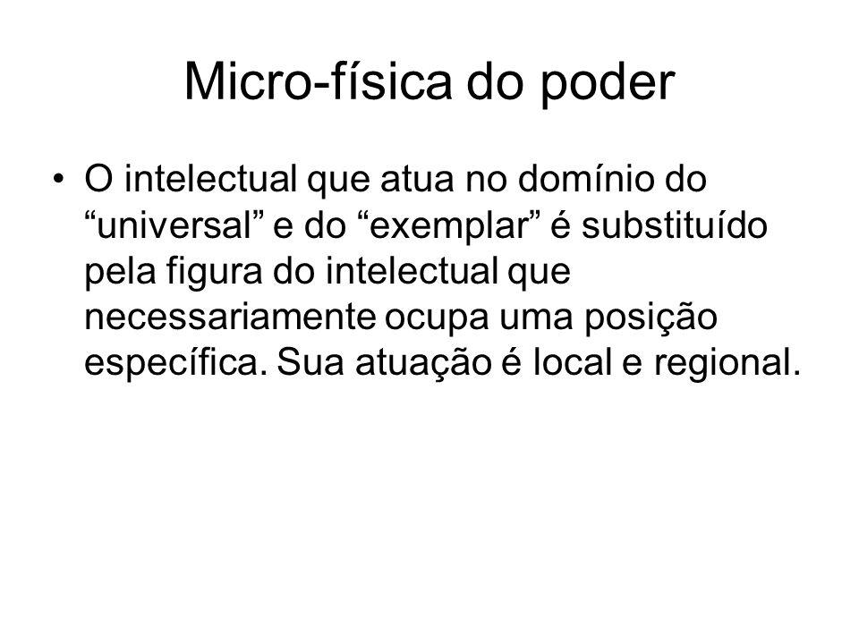 Micro-física do poder