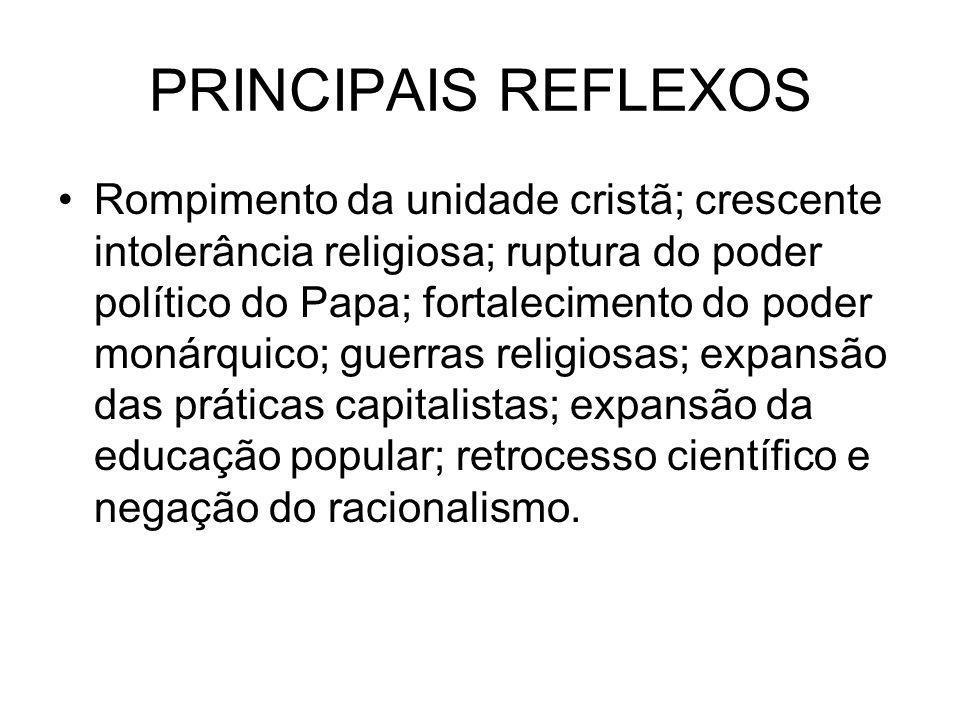 PRINCIPAIS REFLEXOS
