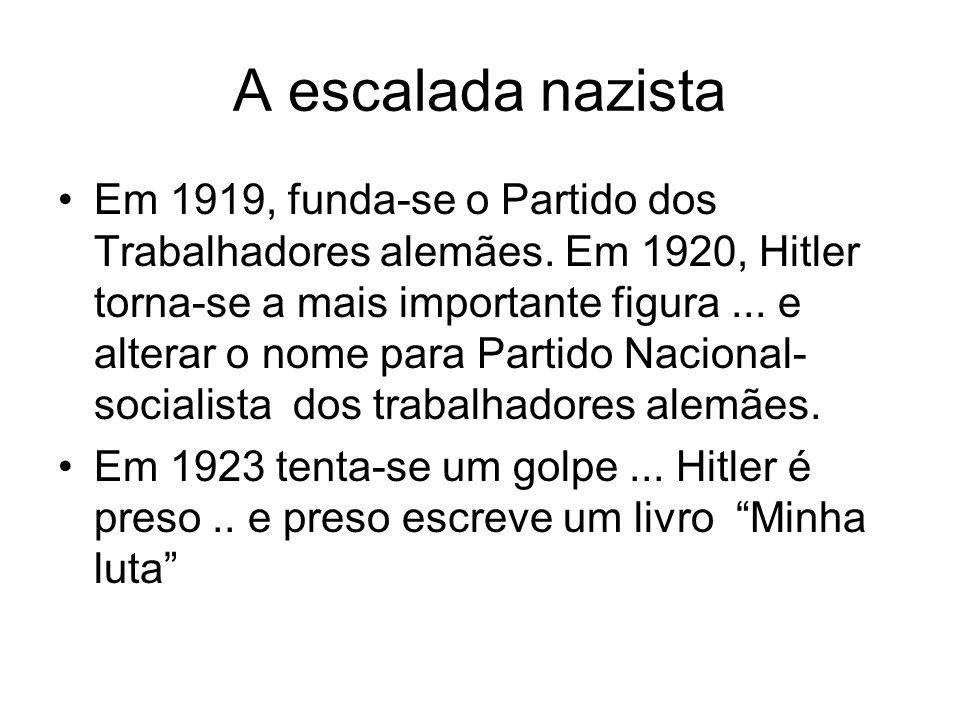 A escalada nazista