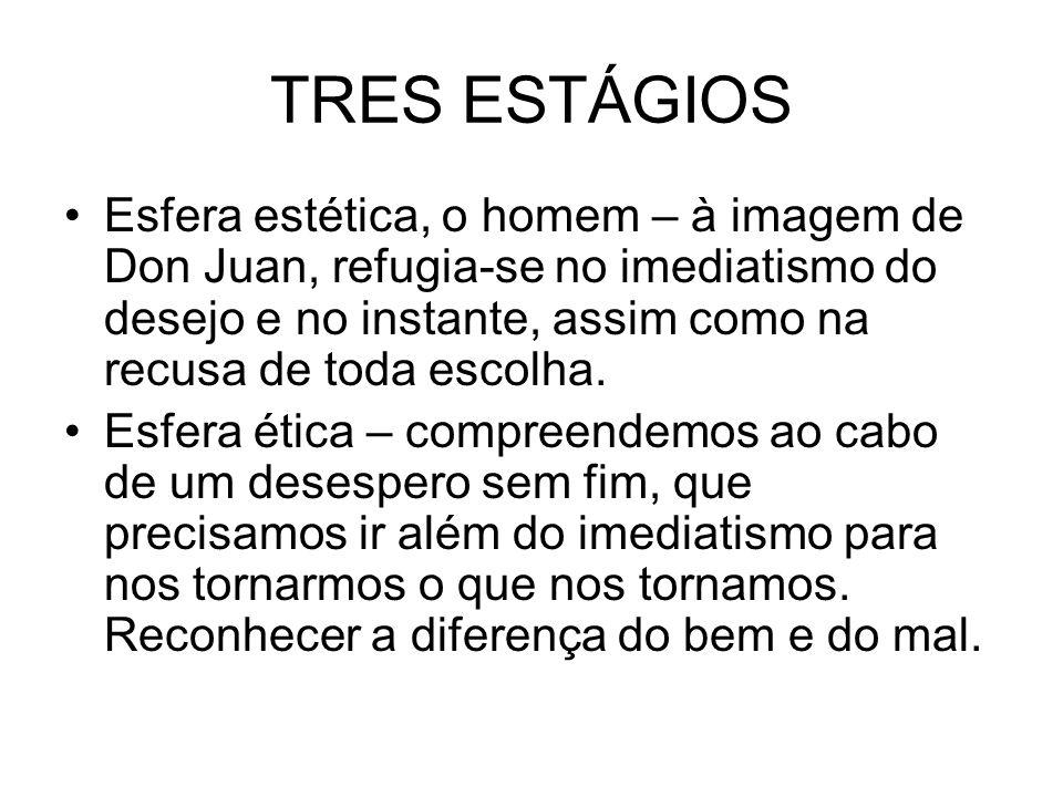 TRES ESTÁGIOS