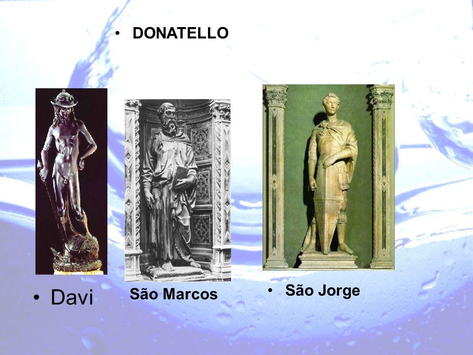 DONATELLO Davi São Jorge São Marcos
