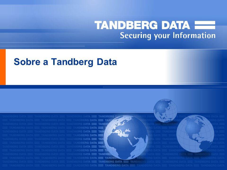 Sobre a Tandberg Data