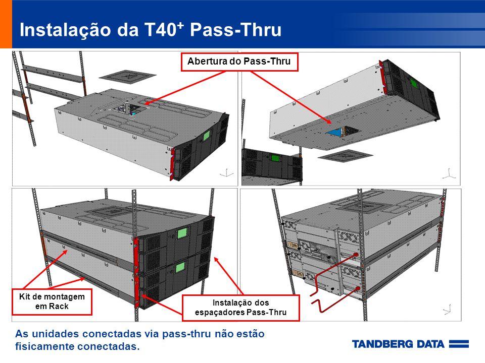 Instalação da T40+ Pass-Thru