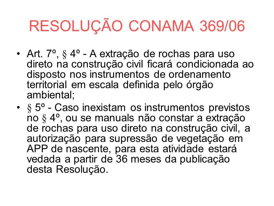 RESOLUÇÃO CONAMA 369/06