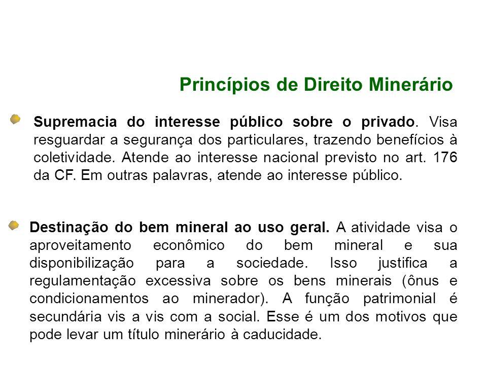 Princípios de Direito Minerário