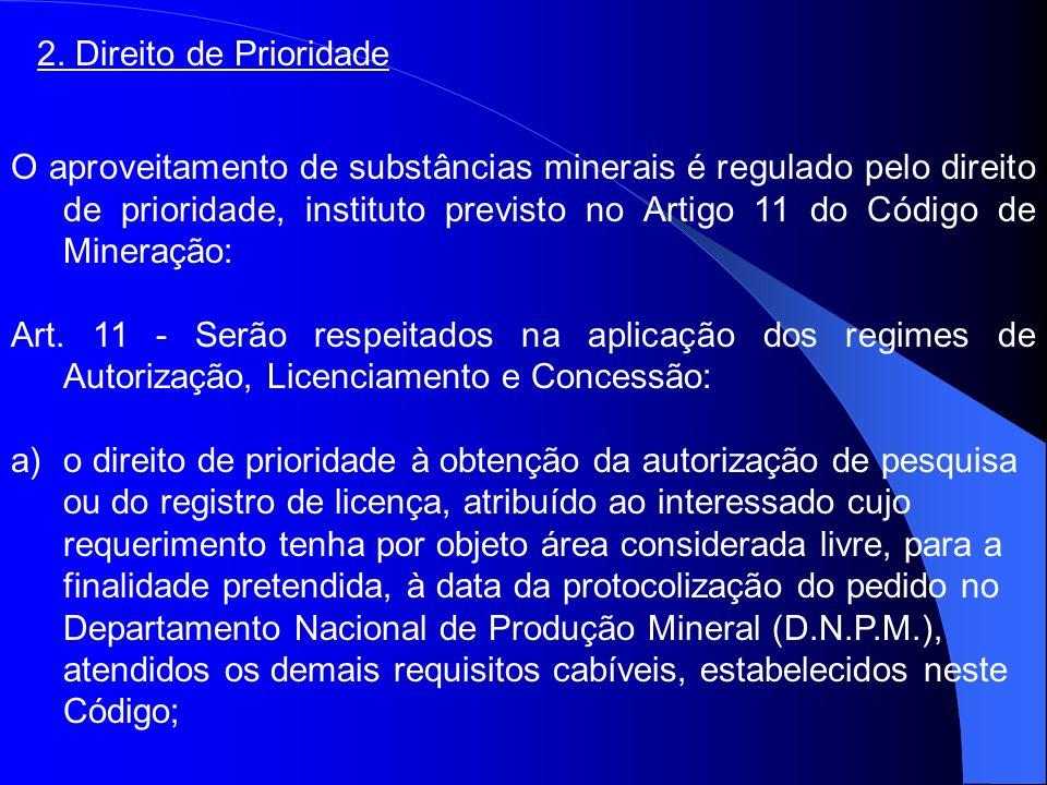2. Direito de Prioridade