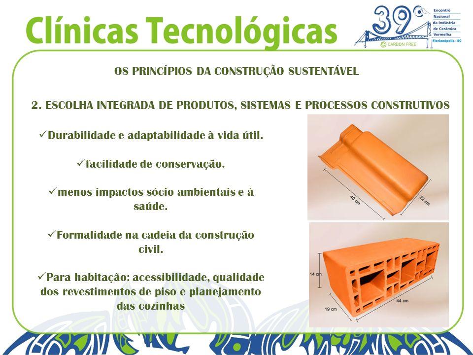 OS PRINCÍPIOS DA CONSTRUÇÃO SUSTENTÁVEL