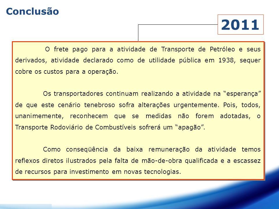 Conclusão 2011.