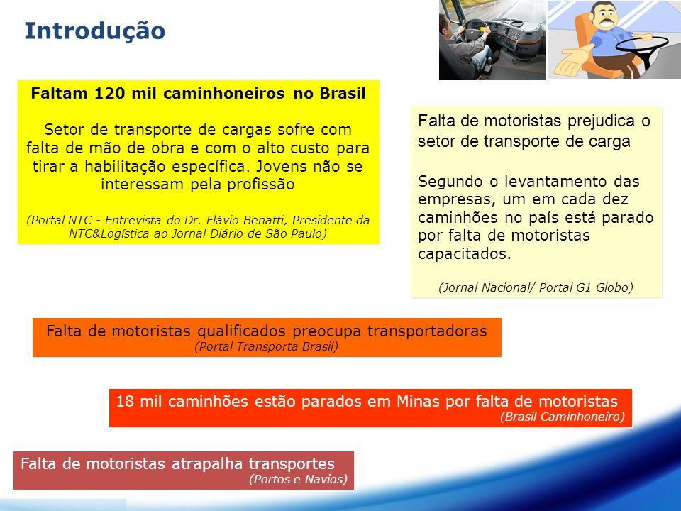 Faltam 120 mil caminhoneiros no Brasil