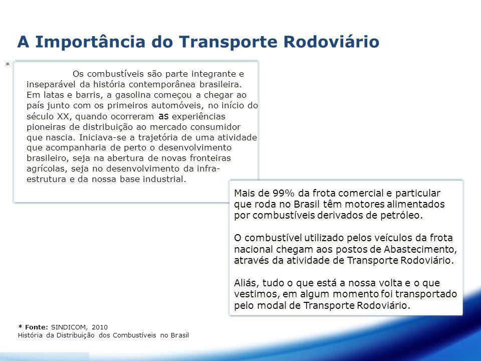 A Importância do Transporte Rodoviário