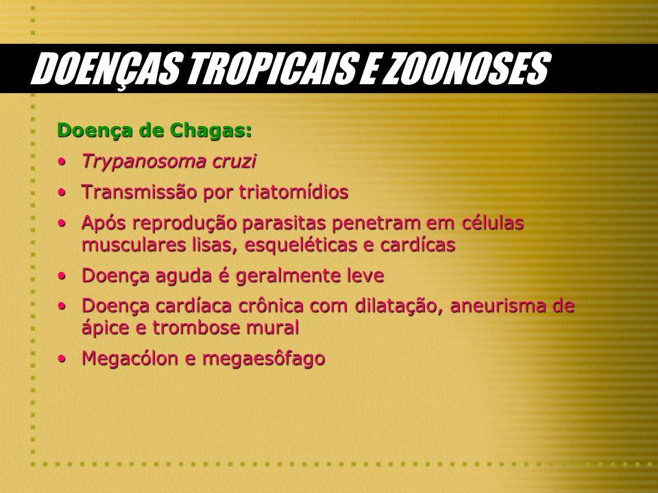 DOENÇAS TROPICAIS E ZOONOSES