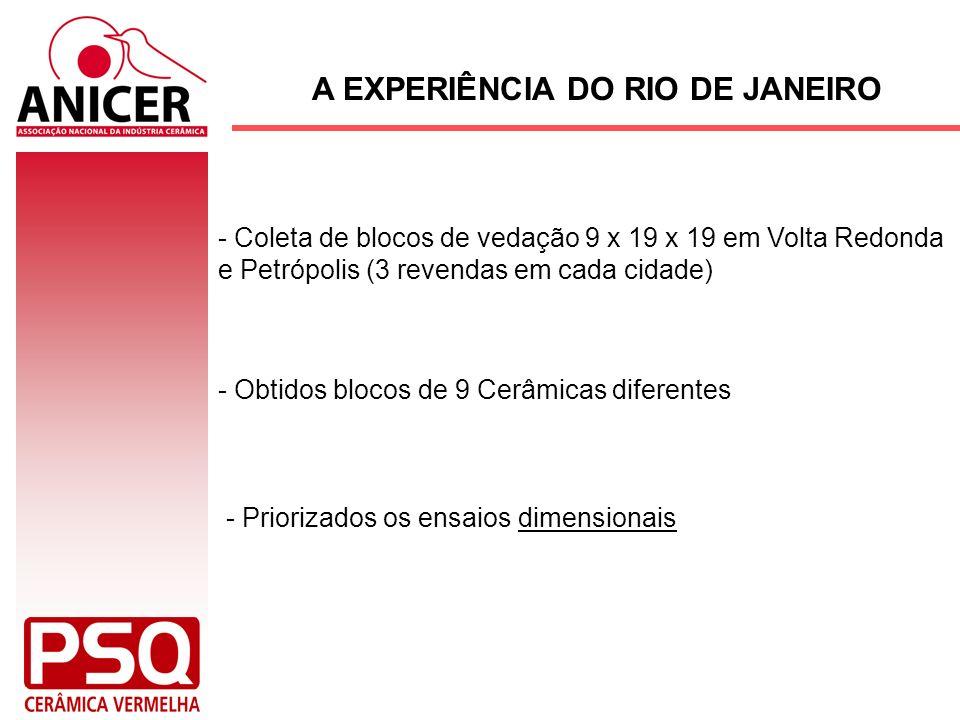 A EXPERIÊNCIA DO RIO DE JANEIRO