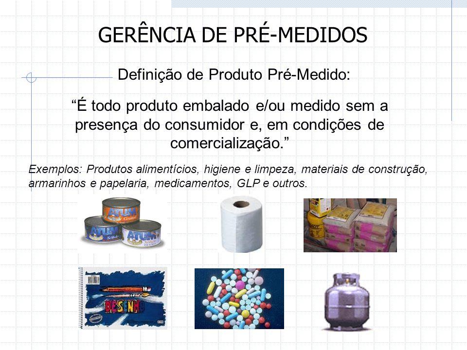 GERÊNCIA DE PRÉ-MEDIDOS