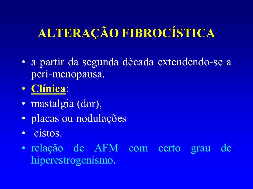 ALTERAÇÃO FIBROCÍSTICA