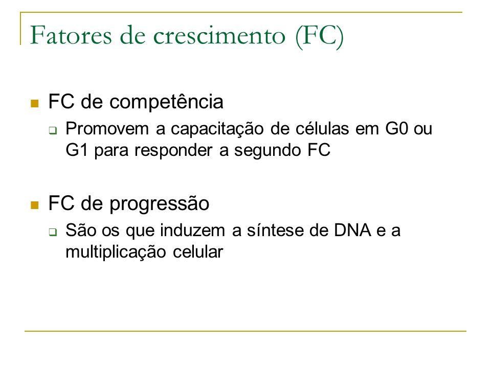 Fatores de crescimento (FC)