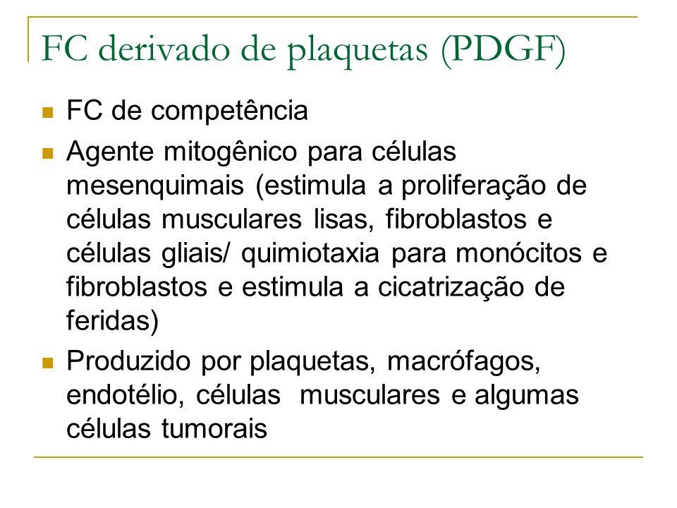 FC derivado de plaquetas (PDGF)