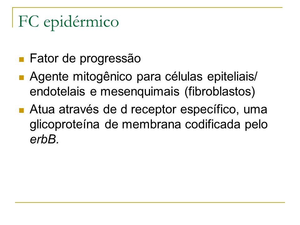 FC epidérmico Fator de progressão