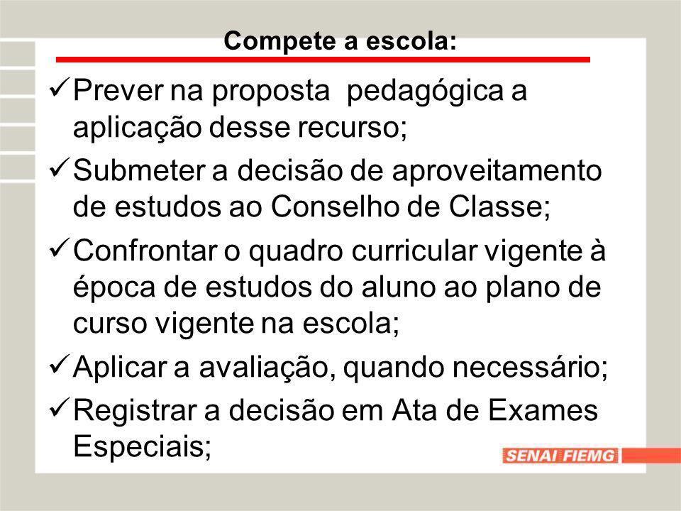 Prever na proposta pedagógica a aplicação desse recurso;