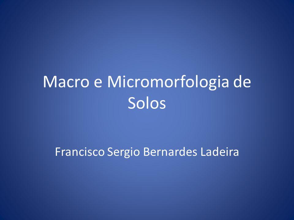Macro e Micromorfologia de Solos