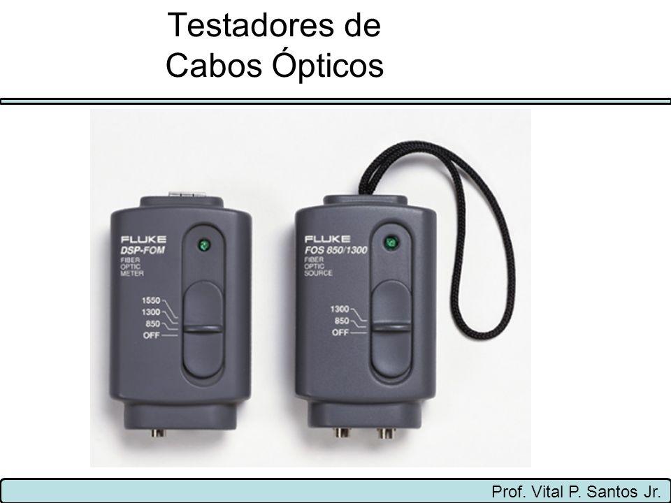 Testadores de Cabos Ópticos