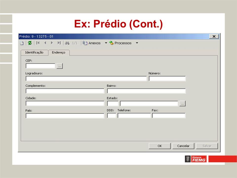 Ex: Prédio (Cont.)
