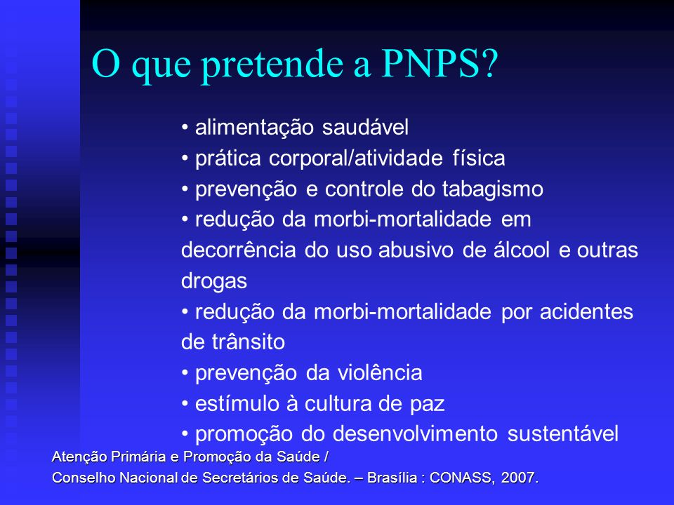 O que pretende a PNPS alimentação saudável