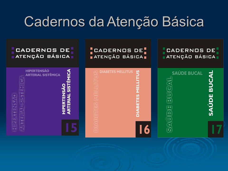 Cadernos da Atenção Básica