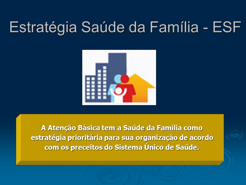 Estratégia Saúde da Família - ESF