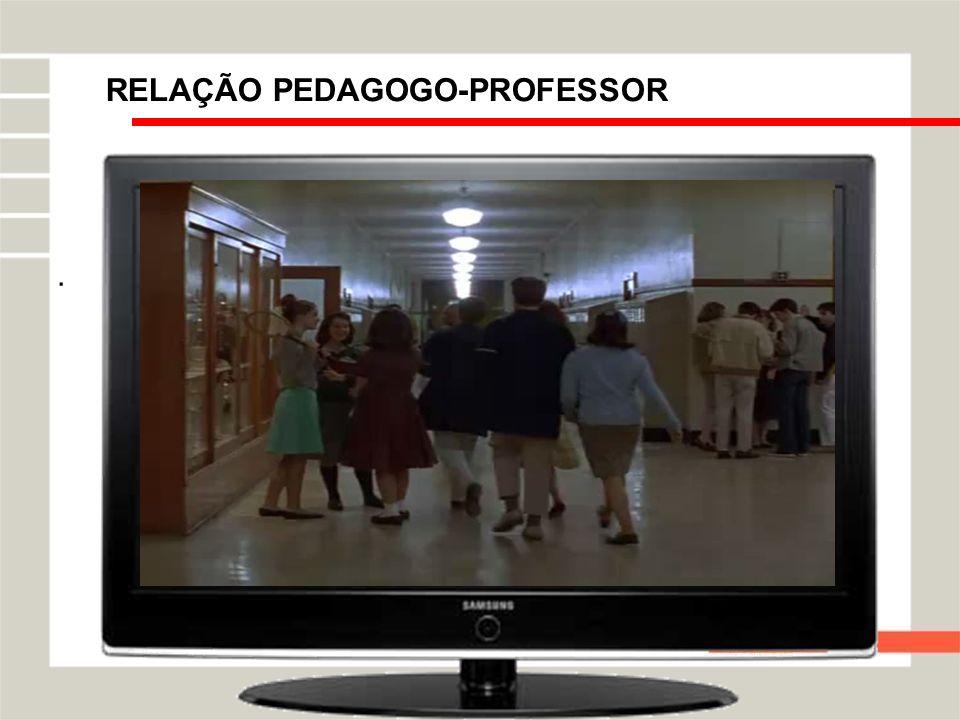 RELAÇÃO PEDAGOGO-PROFESSOR