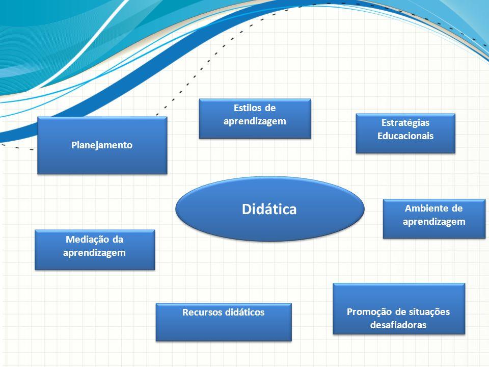 Didática Estilos de aprendizagem Estratégias Educacionais Planejamento