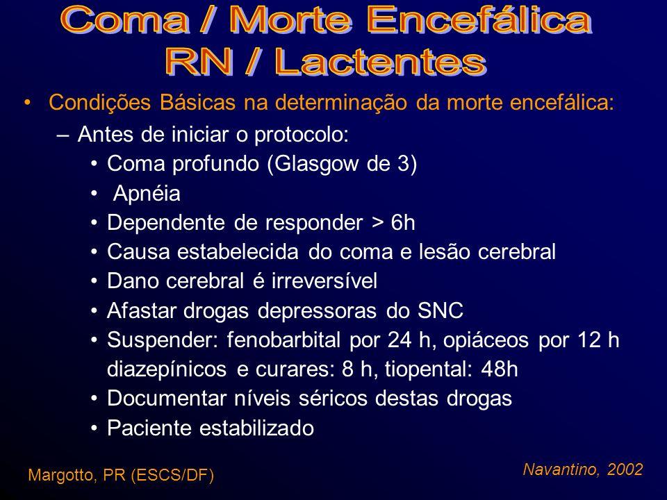 Coma / Morte Encefálica