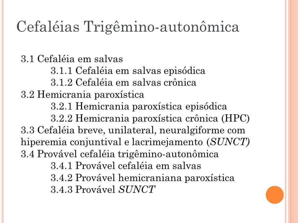 Cefaléias Trigêmino-autonômica