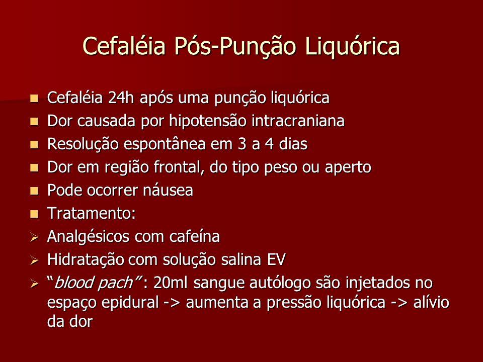 Cefaléia Pós-Punção Liquórica