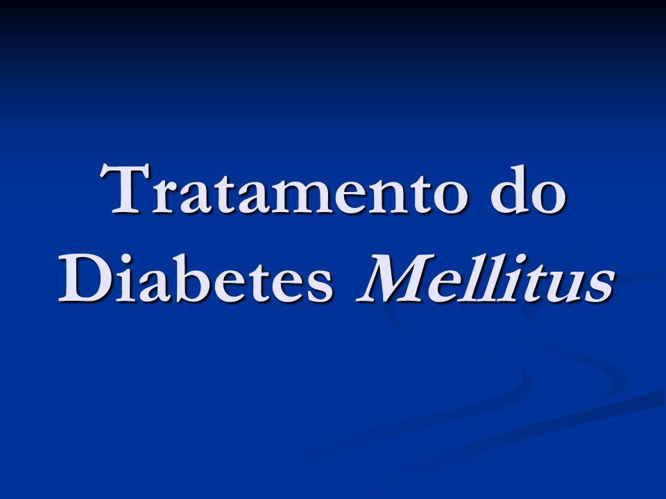 Tratamento do Diabetes Mellitus