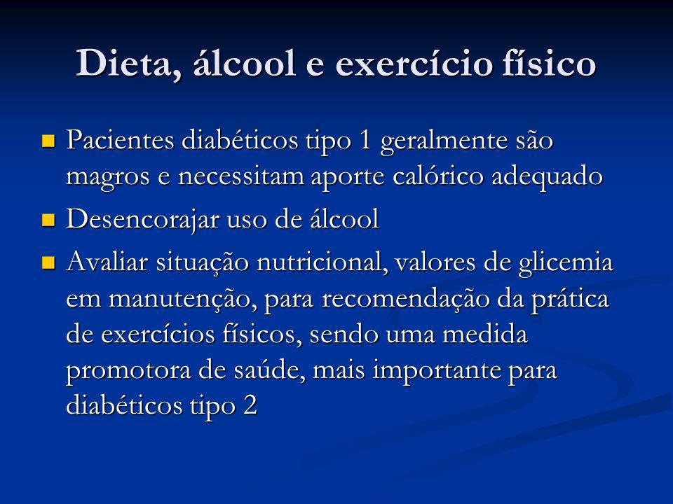Dieta, álcool e exercício físico