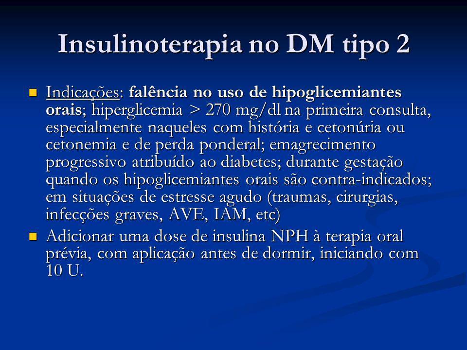 Insulinoterapia no DM tipo 2