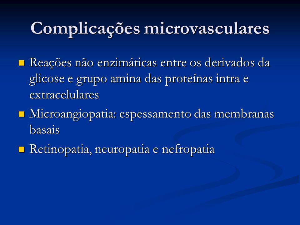 Complicações microvasculares